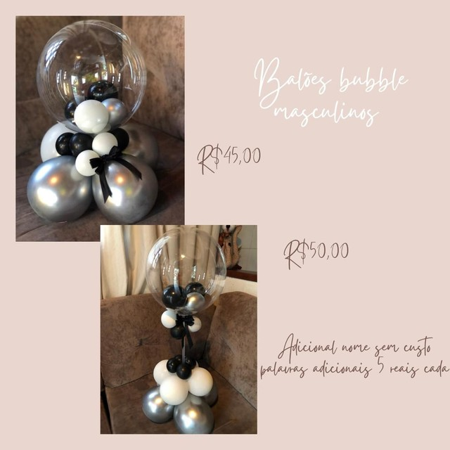 Balão bubble  - Foto 5