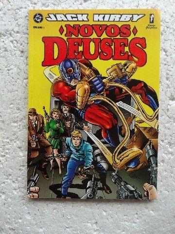 Novos Deuses Nºs 1 A 3! Jack Kirby! Opera Graphica (2001) - Foto 3