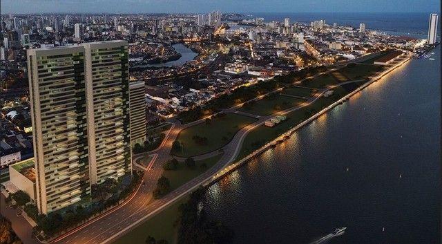 Apartamento 4 suítes à venda, 226 m² por R$ 2.300.000 - Cabanga - Recife/PE - Foto 2