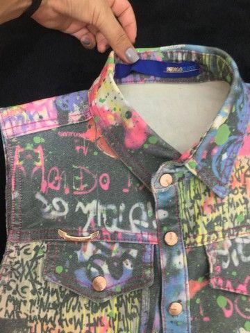 Colete Jeans Feminino  - Foto 3