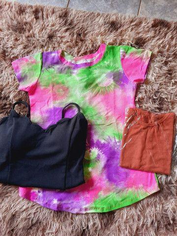 T shirt blusa - Foto 2
