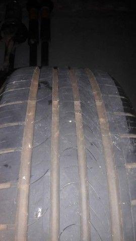 Venda.. rodas 16 do sportline ,pneus meia vida,+ Amortecedores dianteiro e traseiro  - Foto 3