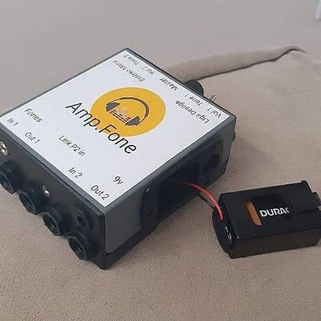 Amplificadores de fones Estéreo AMP.FONE ( VALOR UNITARIO )POWER CLICK  - Foto 5