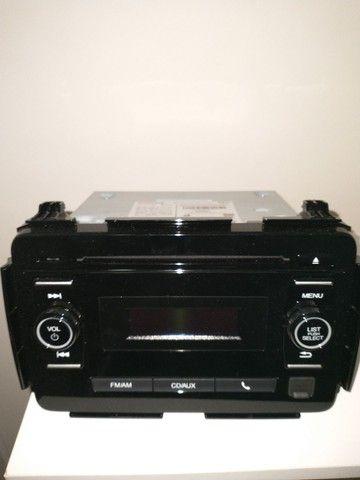 Rádio Am-Fm, cd players, auxiliar original Honda Hrv- 2016. - Foto 3