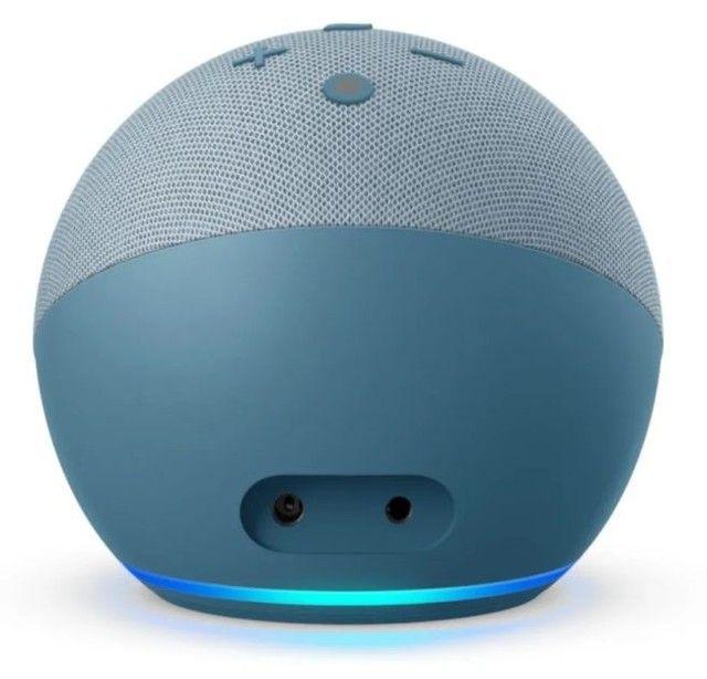 """Alexa Echo Dot 4ª Ger.<br>""""Twilight Azul"""" Produto Original. 3x S/Juros.<br>A Vista 10% - Foto 6"""