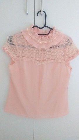 Blusa rosa P - Foto 2