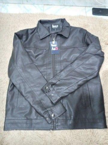 Jaqueta de couro original, marca ARNOLD ITALY  STYLE