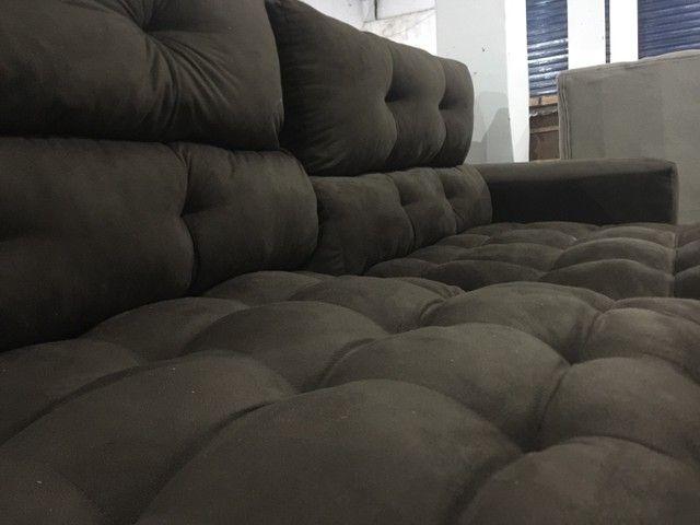 Sofá de luxo Retrátil e reclinável  - Foto 2