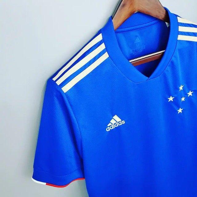 Camisa do Cruzeiro comemoração Premium - Foto 2