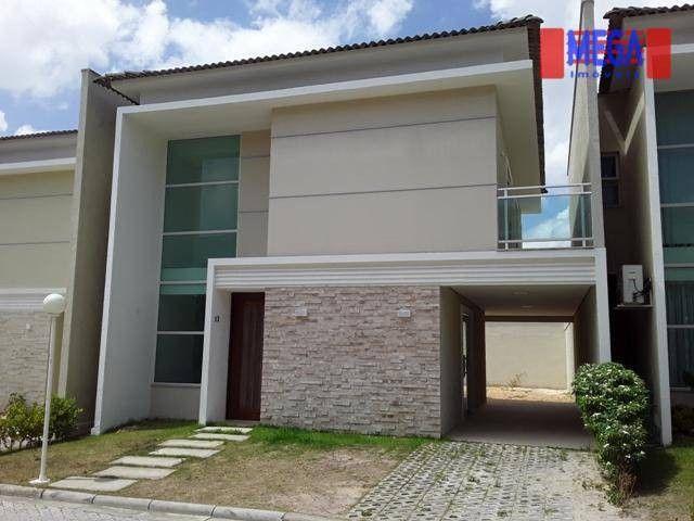 Casa com 3 dormitórios para alugar, 160 m² por R$ 3.200,00/mês - Urucunema - Eusébio/CE - Foto 3