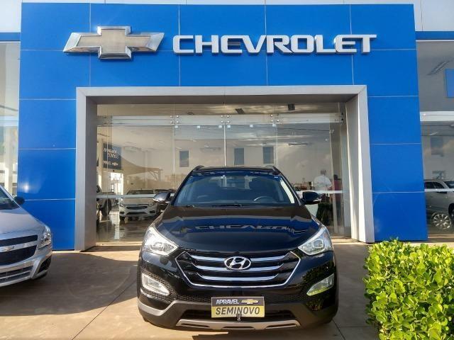 Nice Hyundai Santa Fe 3.3 Lt V6 4x4 (Aut) 5 Lugares   2014/15