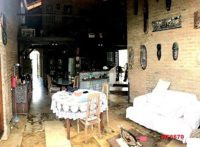 Casa duplex com 4 quartos, gabinete, 5 vagas, 1.200m² terreno, próx Edilson Brasil Soares - Foto 3