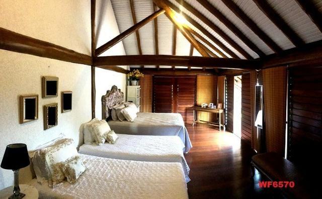 Mansão em Fortim Ceará, casa tríplex, 6 suítes, projetada e mobiliada, próximo ao Centro - Foto 7