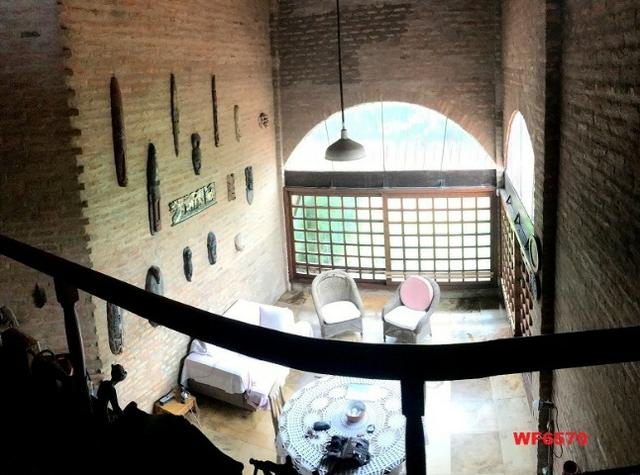 Casa duplex com 4 quartos, gabinete, 5 vagas, 1.200m² terreno, próx Edilson Brasil Soares - Foto 4