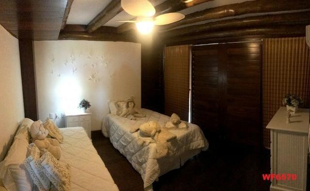 Mansão em Fortim Ceará, casa tríplex, 6 suítes, projetada e mobiliada, próximo ao Centro - Foto 11