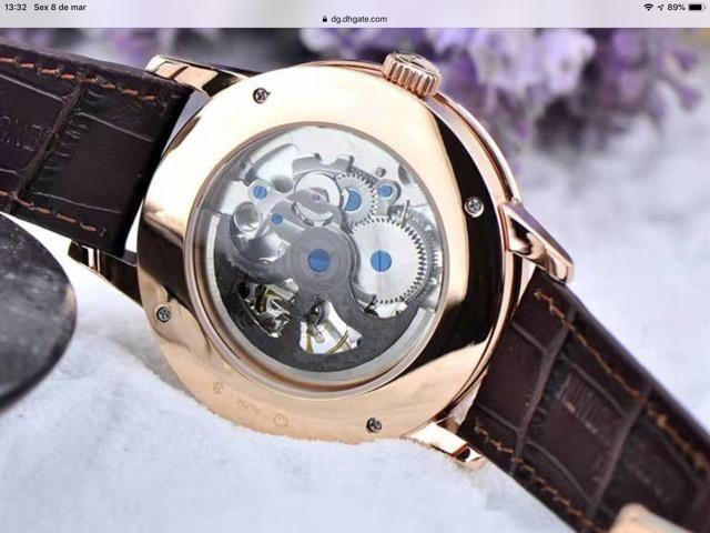 07f93d92634 Relógio Vacheron Constantin Novo - Bijouterias