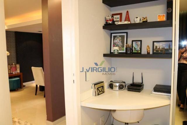 Apartamento com 2 dormitórios à venda, 54 m² por r$ 180.000 - setor dos afonsos - aparecid - Foto 19
