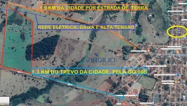 Área à venda, 290400 m² por R$ 1.200.000,00 - Zona Rural - Nazario/GO - Foto 7
