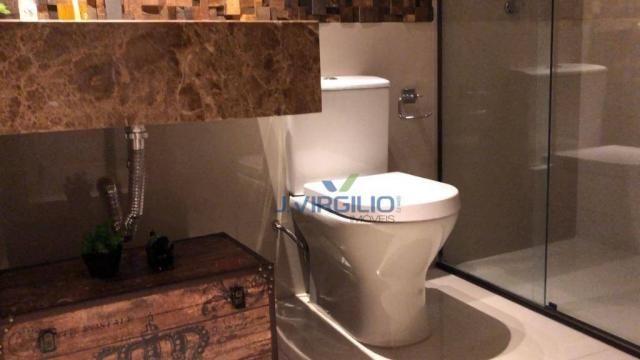 Apartamento triplex com 4 dormitórios à venda, 400 m² por r$ 1.399.000,00 - setor nova sui - Foto 10