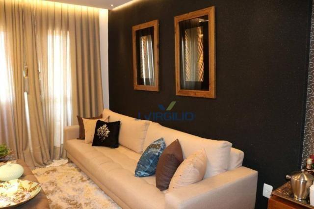 Apartamento com 2 dormitórios à venda, 54 m² por r$ 180.000 - setor dos afonsos - aparecid - Foto 4