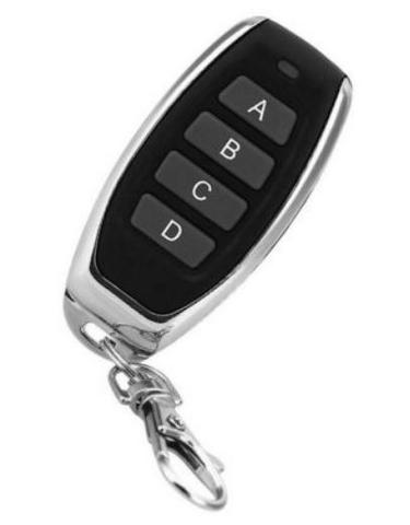 COD-AM298 Controle Remoto Transmissor 433.92Mhz Código rolante Garagem Portão Porta - Foto 4