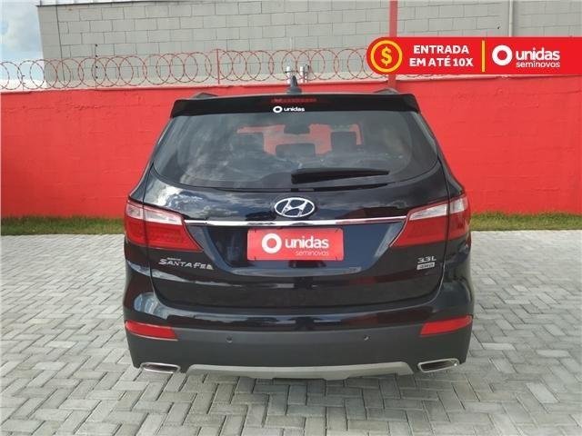 Hyundai Grand santa fé 3.3 mpfi v6 4wd gasolina 4p automático - Foto 6