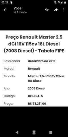 Vendo Renault Master ABAIXO DA FIPE - Foto 6