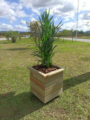 Vasos de madeira tratada - Foto 3
