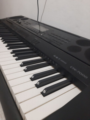Teclado musical da Casio