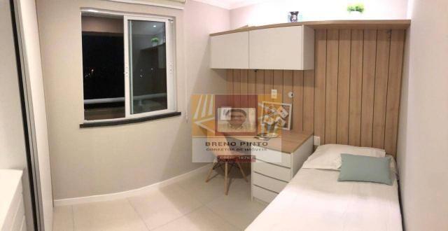 Apartamento para venda com 3 quartos e lazer completo no Guararapes - Foto 13