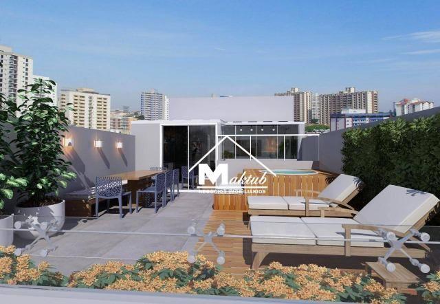 Cobertura com 2 dormitórios à venda, 88 m² por R$ 430.000,00 - Jardim - Santo André/SP - Foto 8