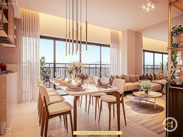 Apartamento à venda com 4 dormitórios em Setor marista, Goiânia cod:4244 - Foto 10
