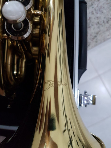 Trompete Pocket Shelter dourado. - Foto 5