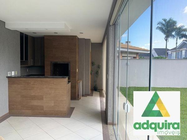 Casa em condomínio com 4 quartos no Condomínio Veneto - Bairro Oficinas em Ponta Grossa - Foto 4