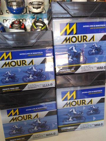 Bateria para motos fan titan factor moura entregamos em todo rio