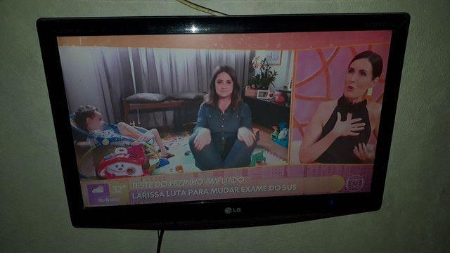 Troco tv 18 polegada em celular - Foto 3