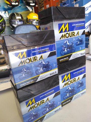 Bateria para motos fan titan factor moura entregamos em todo rio - Foto 2