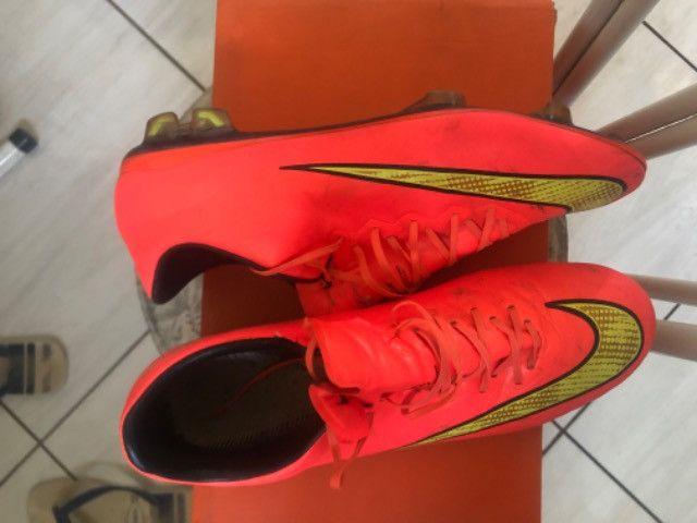 Chuteira Nike Mercurial 1ª Linha - Foto 3