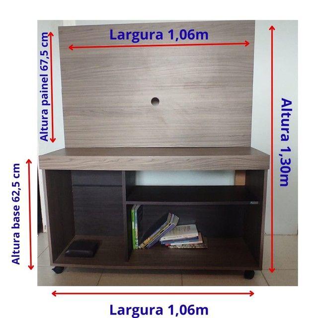 Rack com painel de TV - VENDO ou TROCO