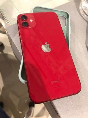 iPhone 11 64gb red - Caixa e NF - troco só por iPhone 12 mini
