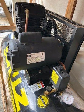 Compressor de Ar Pratic Air CSL 20/150 Monofásico - Schulz - Foto 5