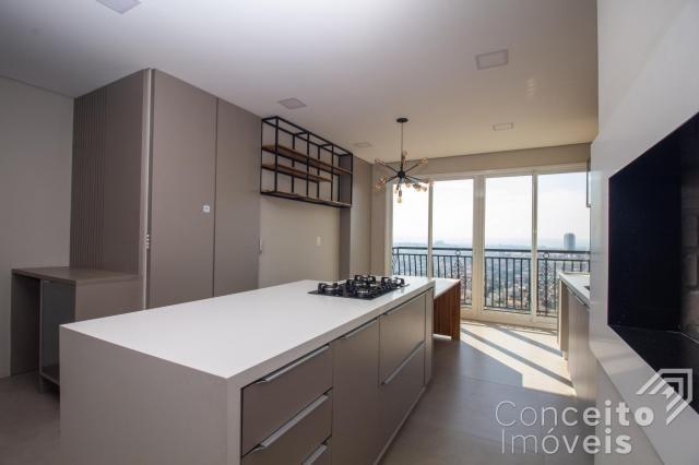 Apartamento à venda com 3 dormitórios em Jardim carvalho, Ponta grossa cod:391691.001 - Foto 8