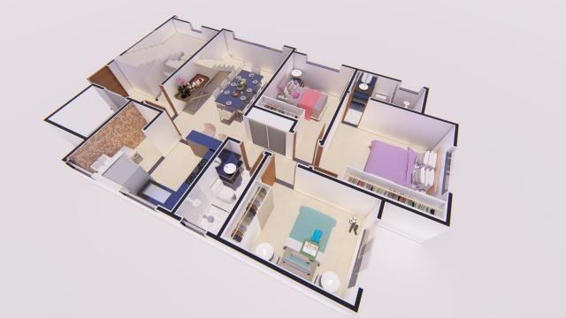 Apartamento à venda com 3 dormitórios em Castelo, Belo horizonte cod:ATC4272 - Foto 5