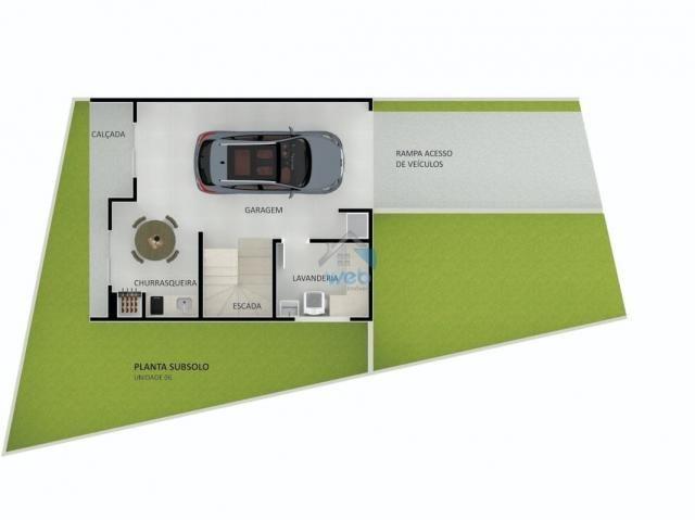 Residencial Menino Jesus - Lindos sobrados em condomínio fechado, com 3 quartos, muito bem - Foto 9