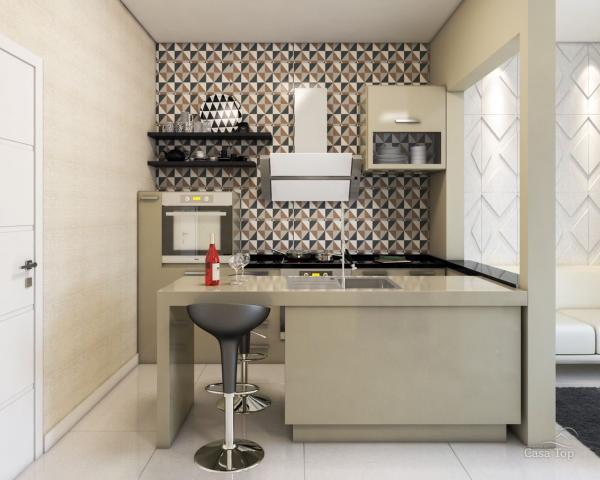 Apartamento à venda com 1 dormitórios em Centro, Ponta grossa cod:794 - Foto 2