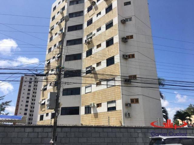 Apartamento com 3 dormitórios para alugar, 129 m² por R$ 1.400/mês - Dionisio Torres - For