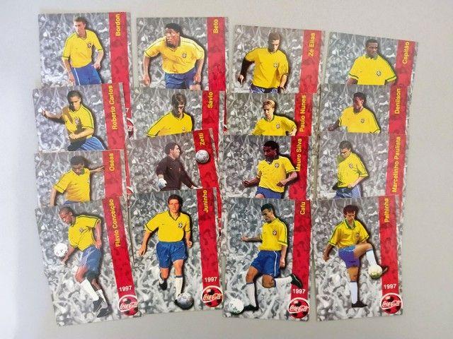 Futcards Coca Cola 1997 + Holograma - Foto 2