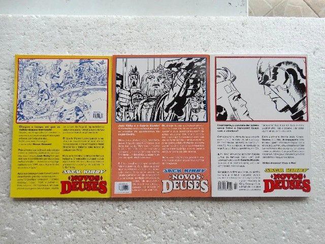Novos Deuses Nºs 1 A 3! Jack Kirby! Opera Graphica (2001) - Foto 4