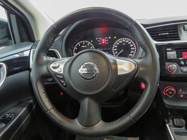 Nissan Sentra 2.0 S Flex Cambio CVT 2019 apenas 15.000 Km rodados  - Foto 12