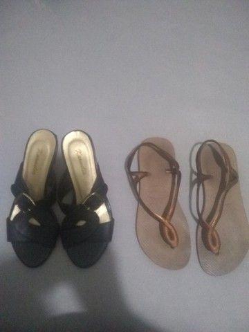 Calçados Tamanhos 33 e 33/34 5,00 cada